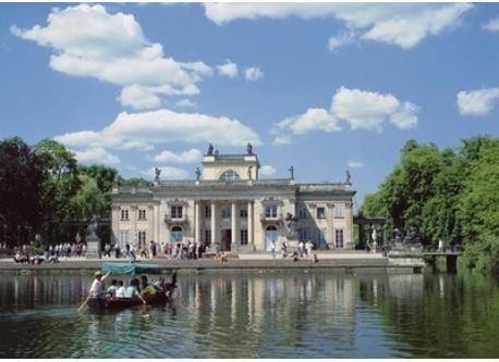 Łazienki Castle and park