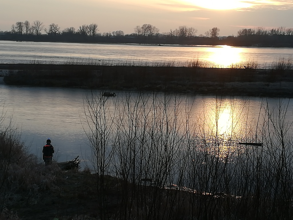 the Vistula, near of our home