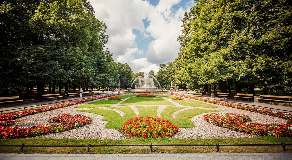 Garden Saski - Warsaw