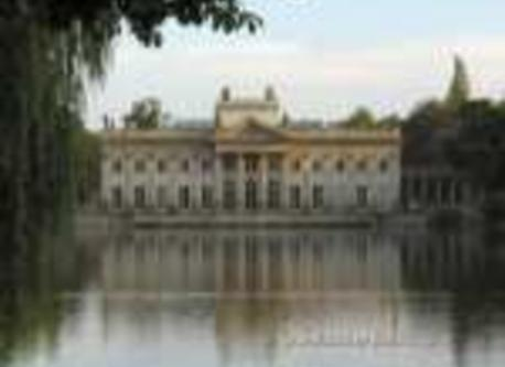 The Palace on the Water in Royal ''Lazienki'' Parc in Warsaw