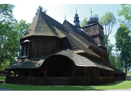 Lachowice church - 14 km