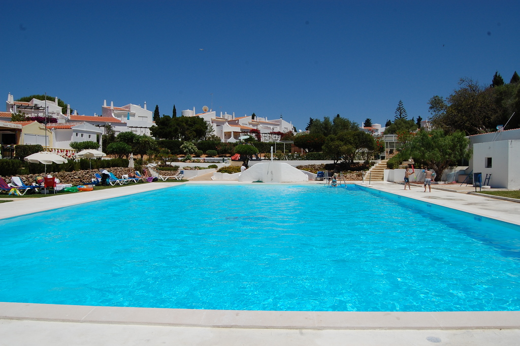 The large pool