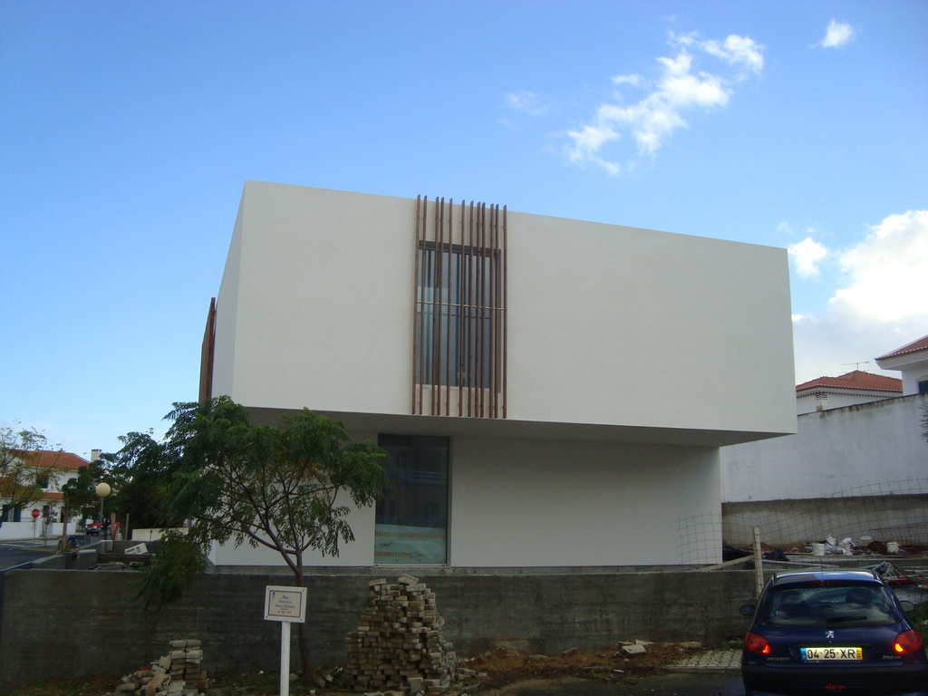 side view of our house