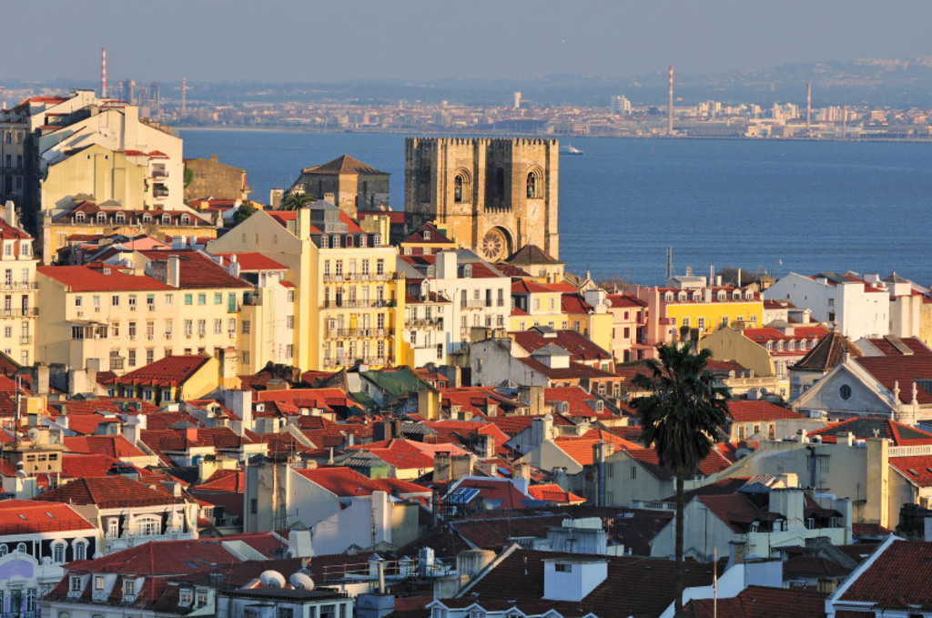Lisbon view bairro alto