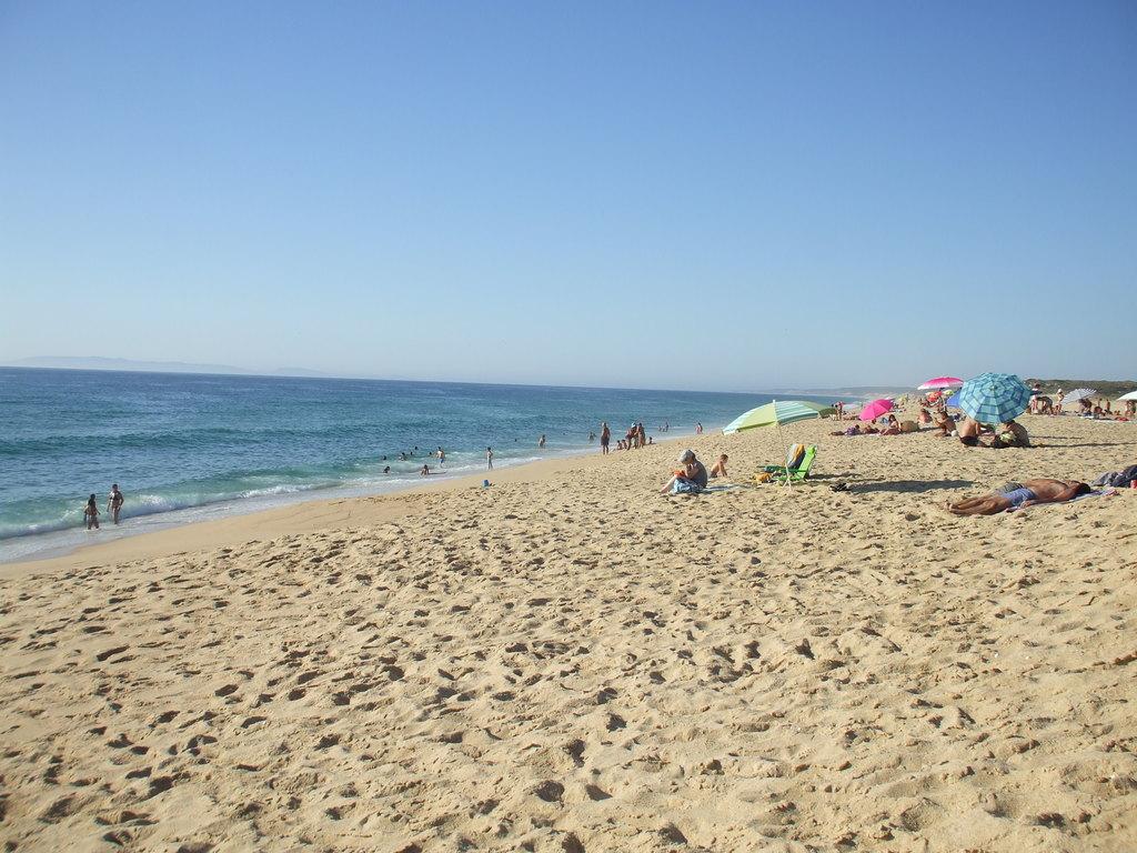 Lagoa Santo André beach