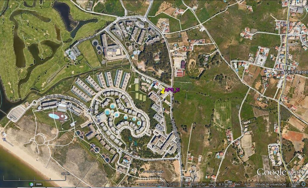 Localização do Apartamento (AP9)