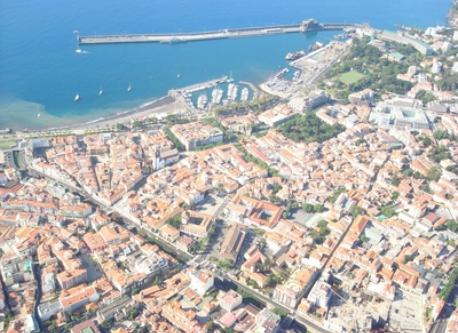 Funchal seen from above