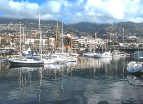 Marina in Funchal