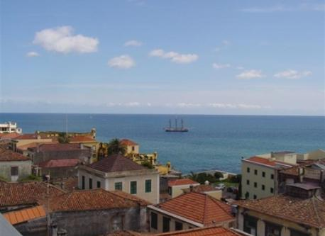 Funchal's Old Town is by the sea