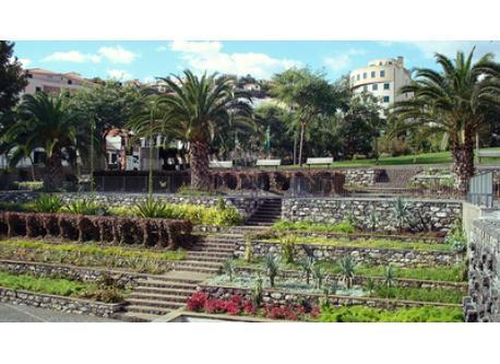 """Jardim Santa Luzia"" garden in Funchal"
