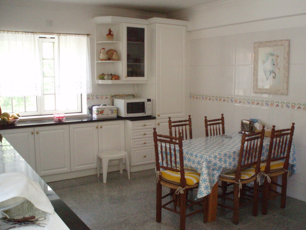 Large kitchen with access to the backyard and barbecue