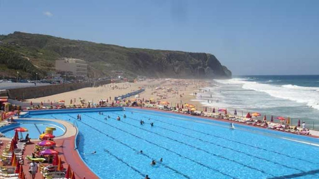 "Sintra - Beach and seawater pool ""Praia Grande"" (12 km, 20 min by bus or car)"
