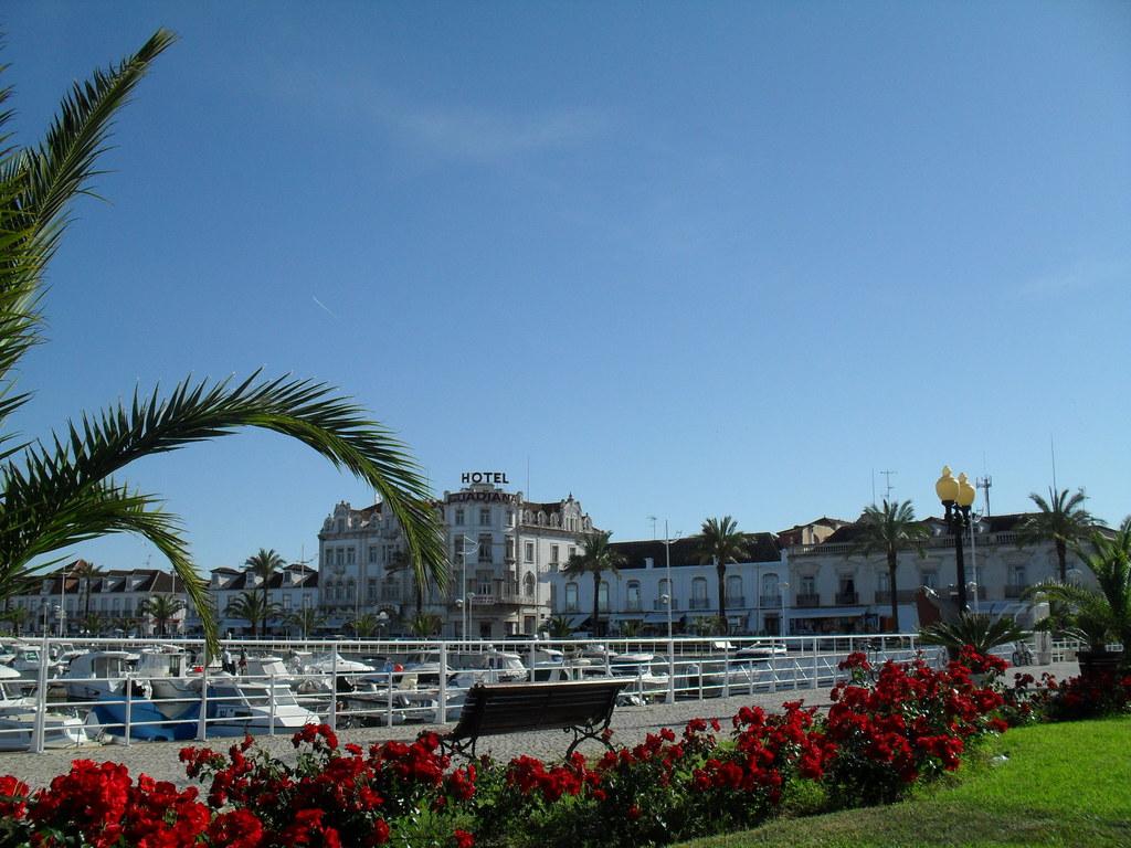 Vila Real Santo António close to the marina