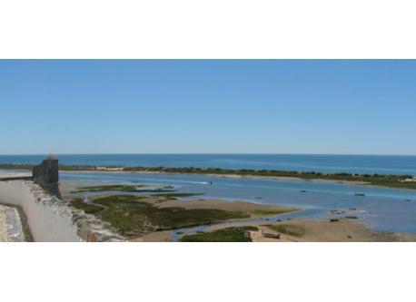 """The """"Ria Formosa"""" seen from Cacela Velha - 15 km"""
