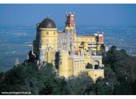 The beautiful villa of Sintra