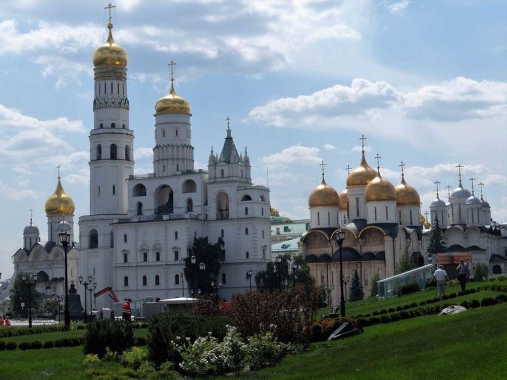 The Kremlin inside
