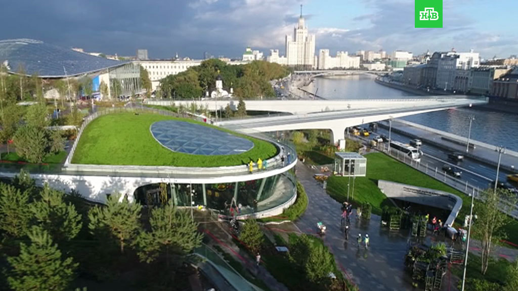 Brand-new Zaryadje park