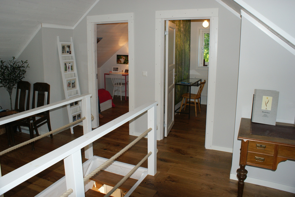 Two bedrooms upstairs