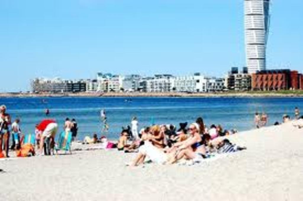 city beach of Malmoe ( 5 min by car)