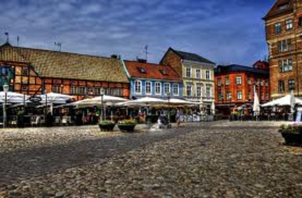 Malmoes old town. (10 min by car)