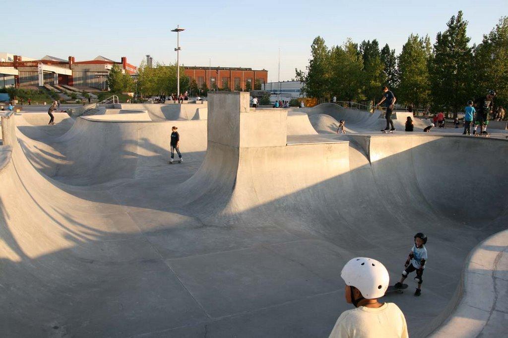 1 of 3 high class skate parks.