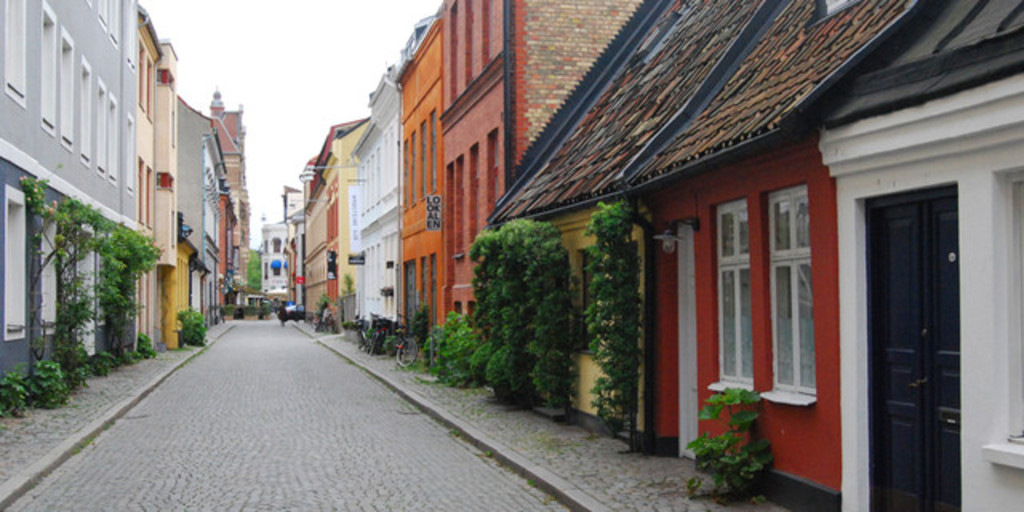 The old part of Malmö.