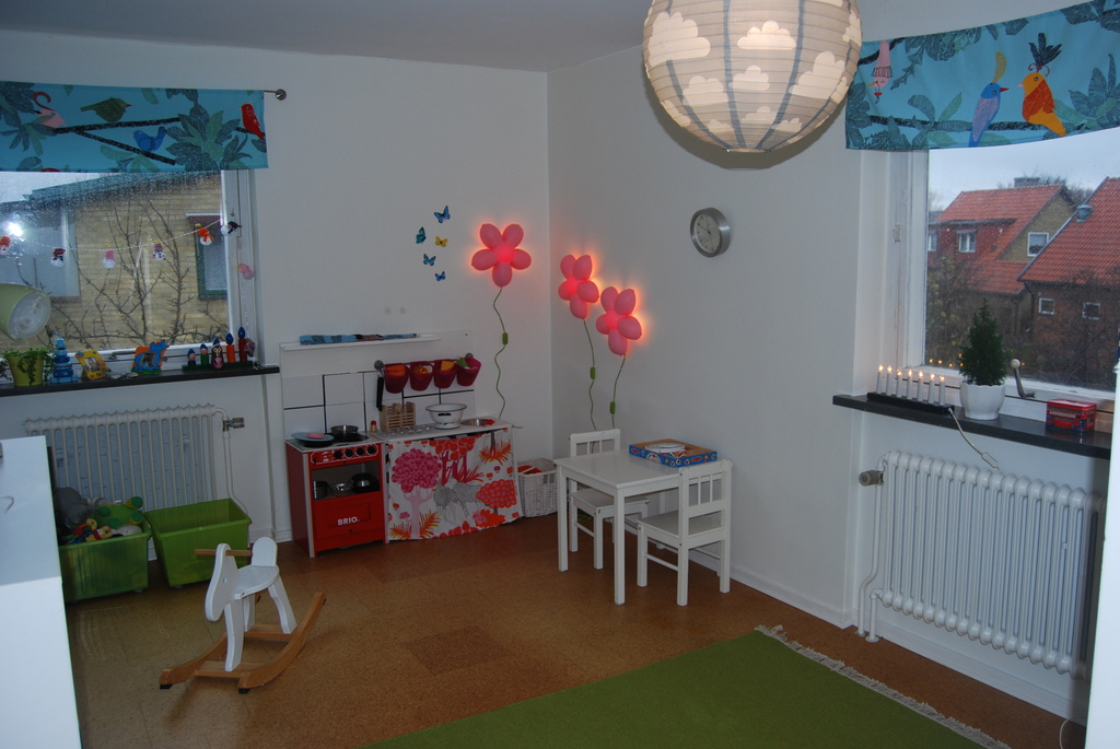 Upstairs playroom