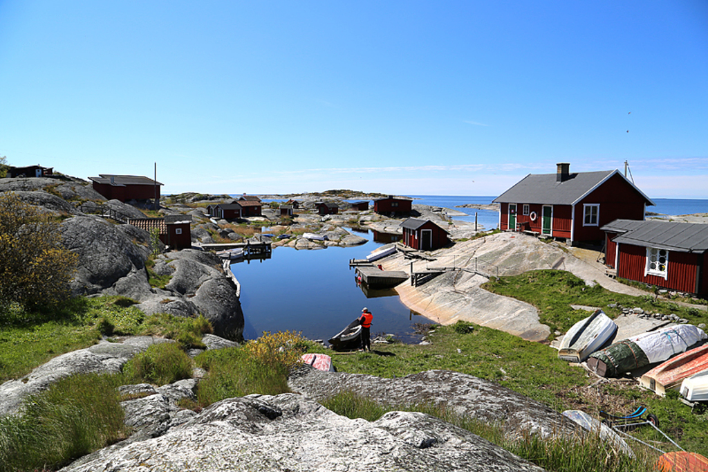 Beautiful Huvudskär is a nice trip for the day