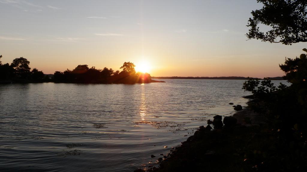 Sunset in archipelago