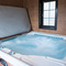 Spa bath with room for 6-8 people