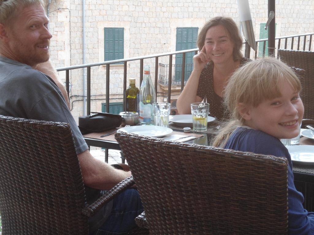 Dinner in Deia, Mallorca 2015