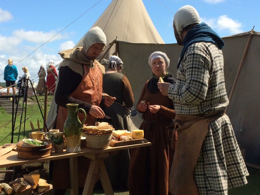 The Medieval Festival Days at Varberg Castel is in july.