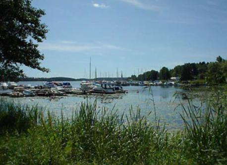 The marina in Bålsta