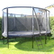 Our garden is just large enough for a trampoline...