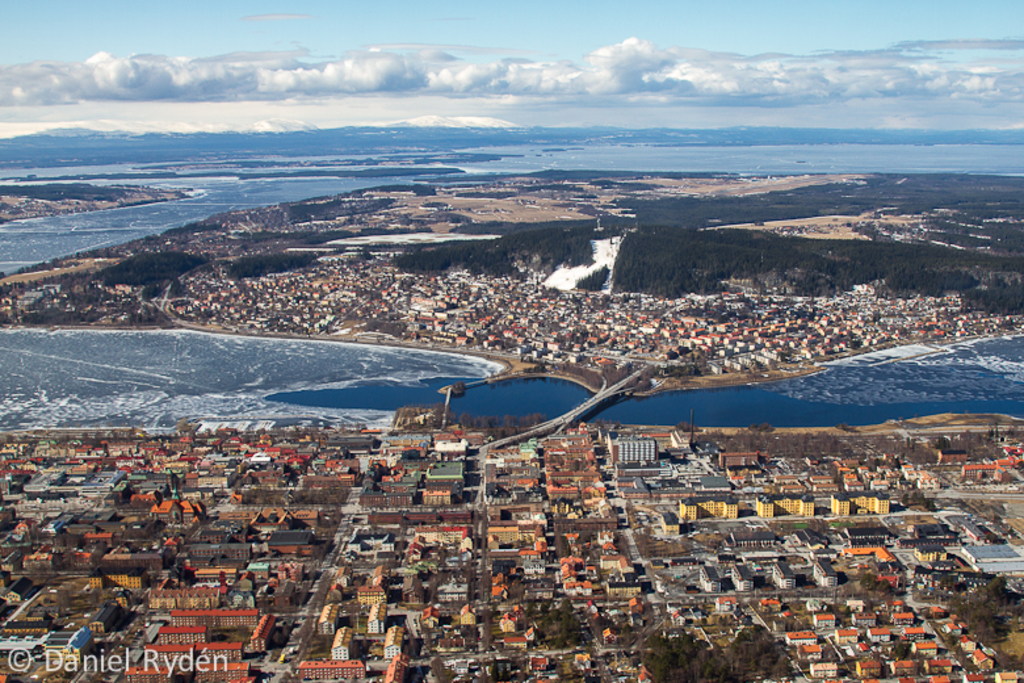 City of Östersund from above!