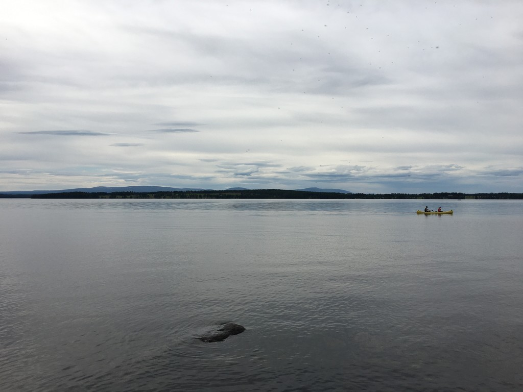 View over lake Storsjön from nearby Andersön