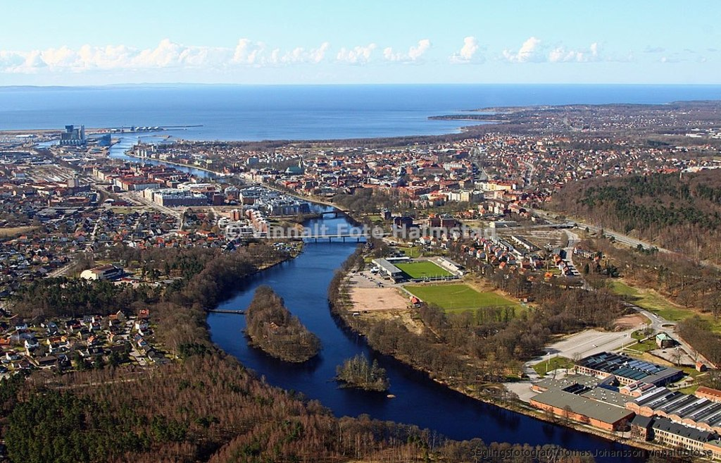 Halmstad, a beautiful city near the beach