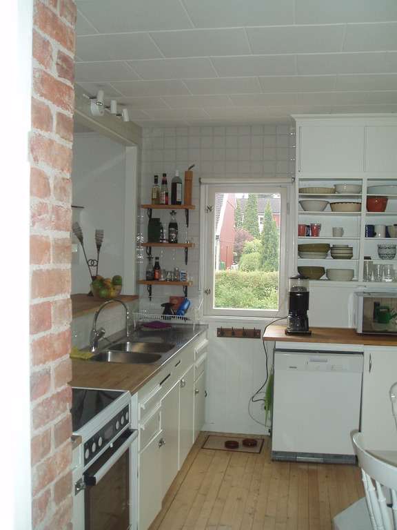 Kitchen from another view.