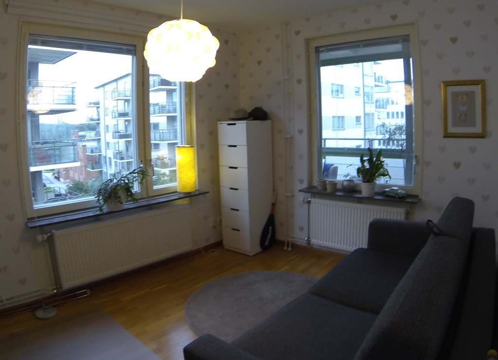2nd bedroom with seaview from both windows, Sofabed for 2 persons.