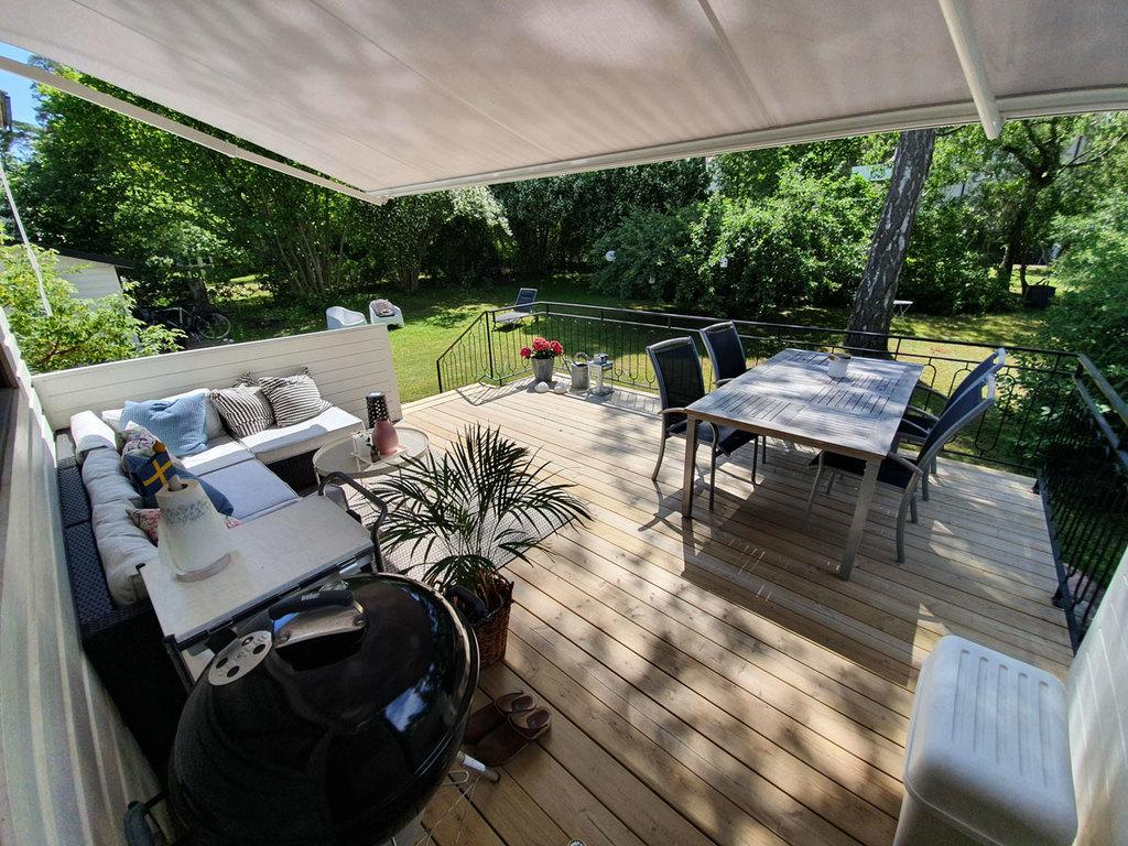 Our fantastic terrace