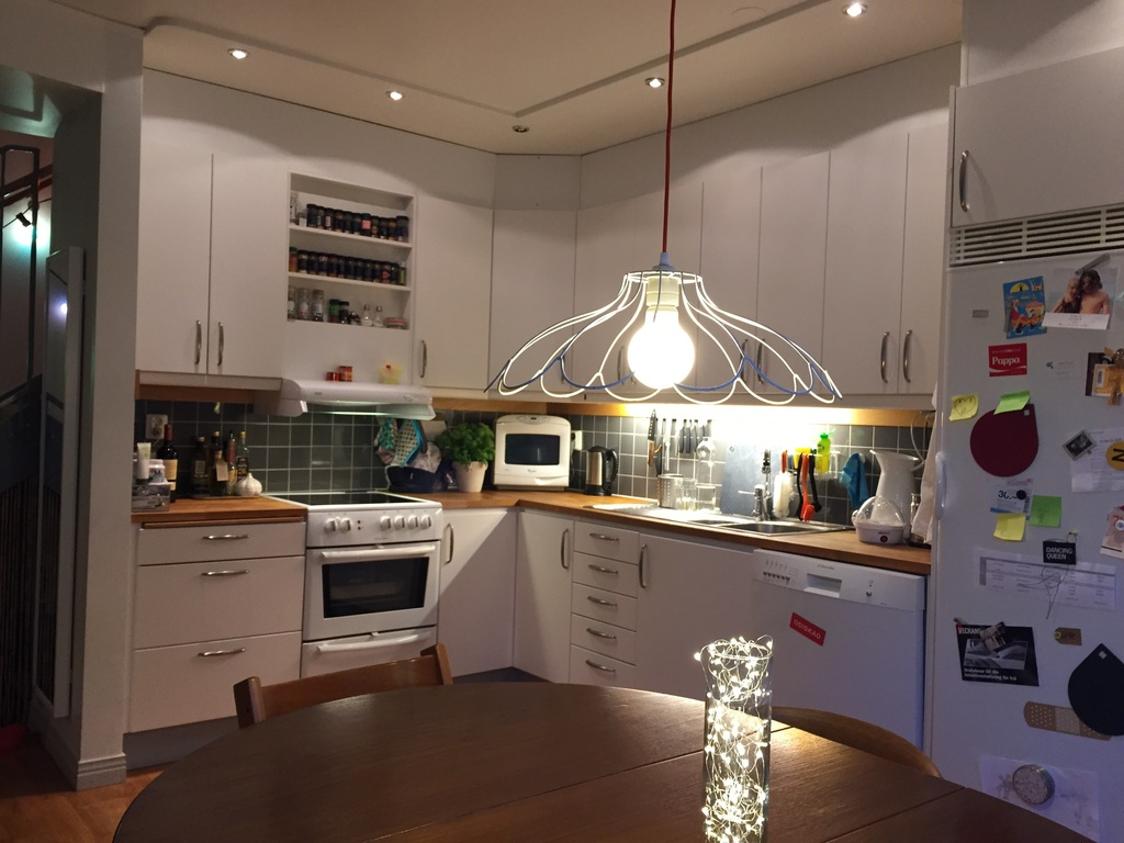 All the standard kitchen appliances, including dish washer and micro wave.
