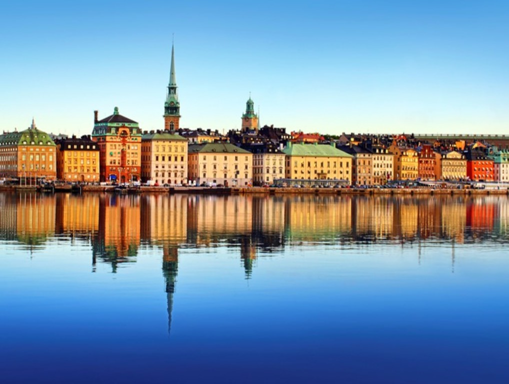 Stockholm, capital of Sweden
