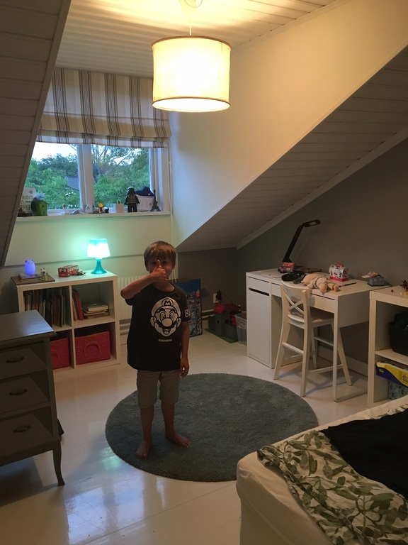 One of the childrens bedrooms upstairs