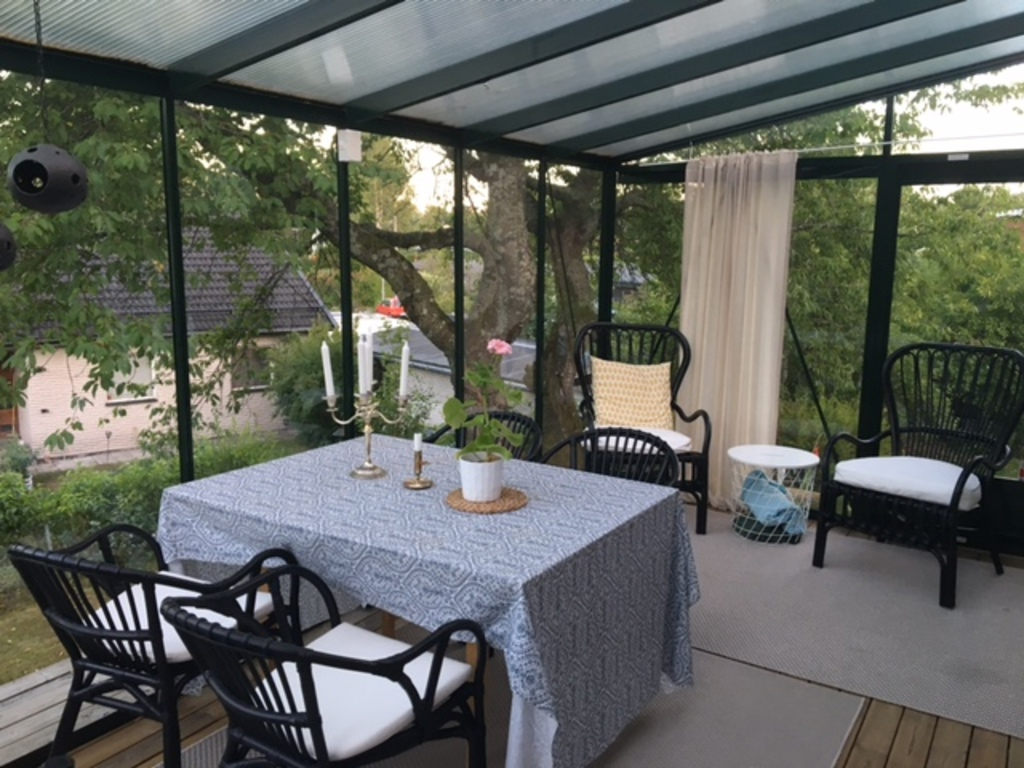 Our patio for nice summer days and evenings