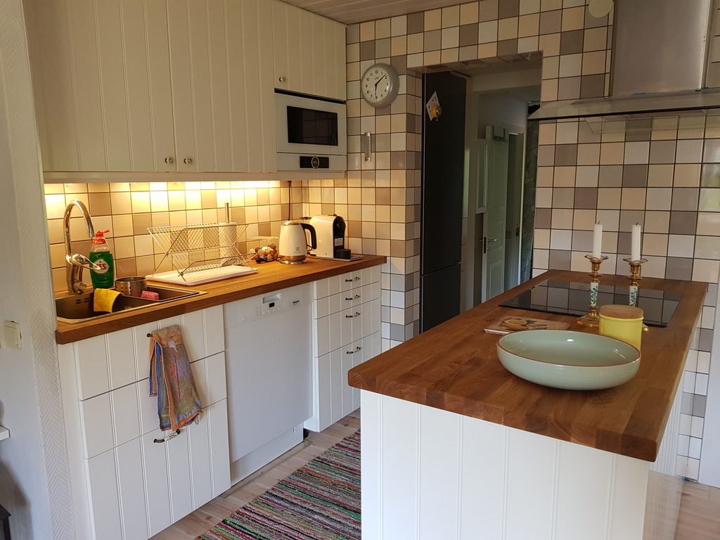 New kitchen in 2018.