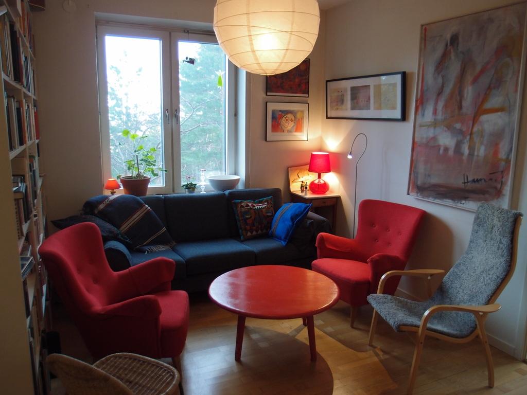 Stockholm. The living-room.