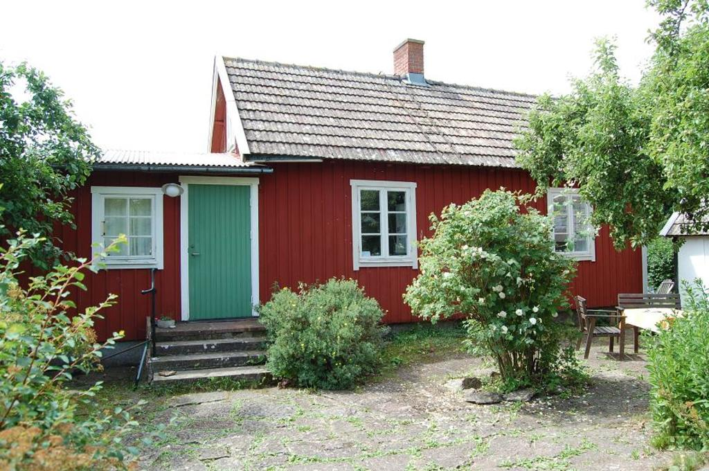 Our house in the village of Össby on the island of Öland.