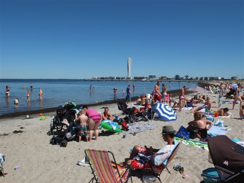Ribersborg, Malmö's Copacabana