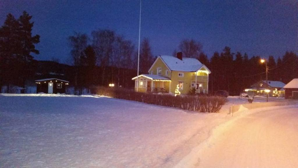 Our house in wintertime.