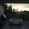 Porch. Gas broiler and coal broiler.